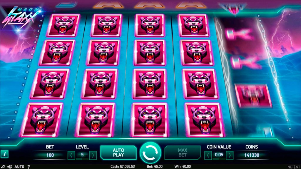 Neon Staxx Slot Machine