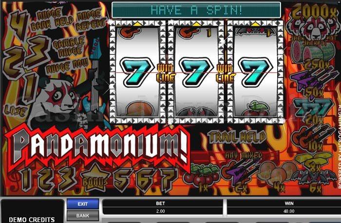 Pandamonium Slot Machine Online