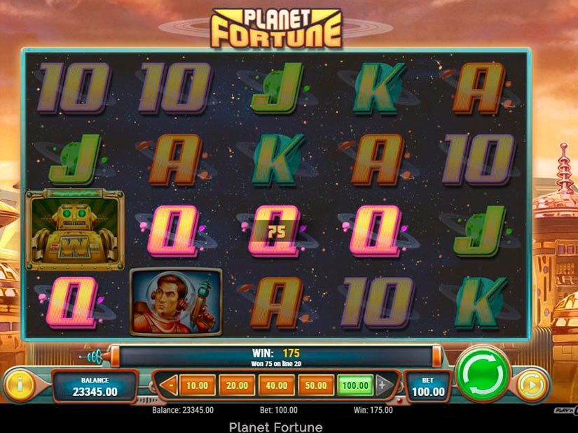 Planet Fortune Slot Machine Review