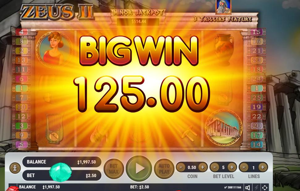 Free Zeus Slot Machine