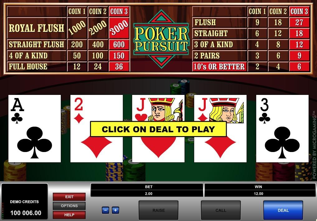 Poker Pursuit Online