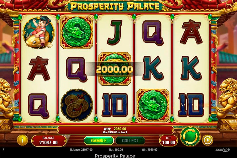Prosperity Palace Slot Machine Review