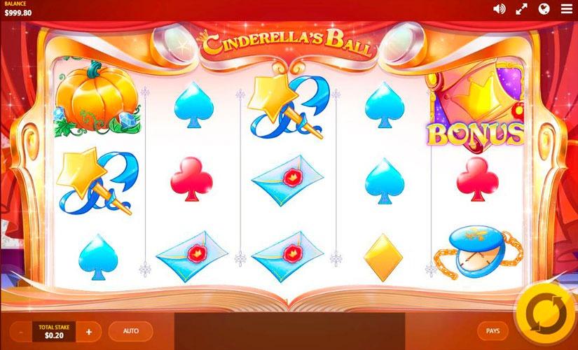 Cinderella's Ball Slot Machine
