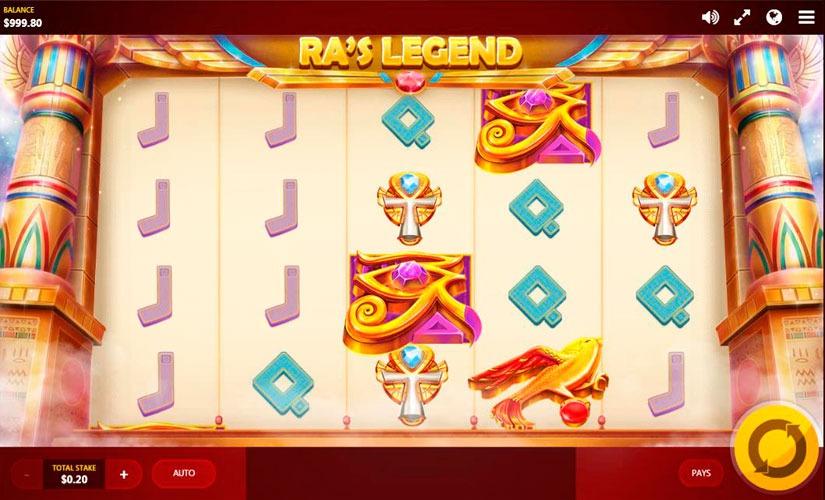 Ra's Legend Slot Machine Online