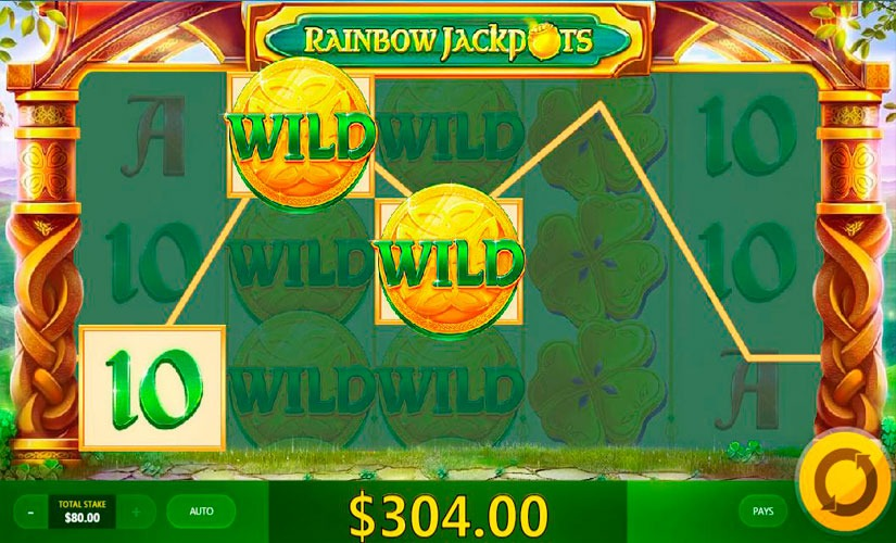 Rainbow Jackpots Slot Machine Online