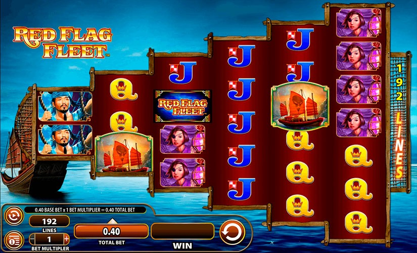 Red Flag Fleet Slot Machine Review