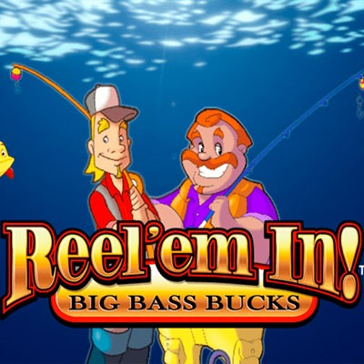 Reel'em In Big Bass Bucks Slot Machine