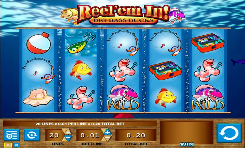 Reel'em In Big Bass Bucks Slot Machine Review