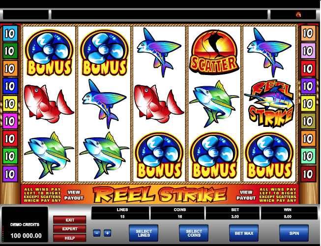 Reel Strike Slot Game Online
