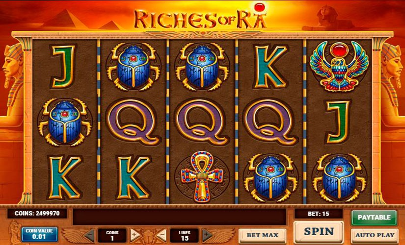Riches of Ra Slot Machine Review