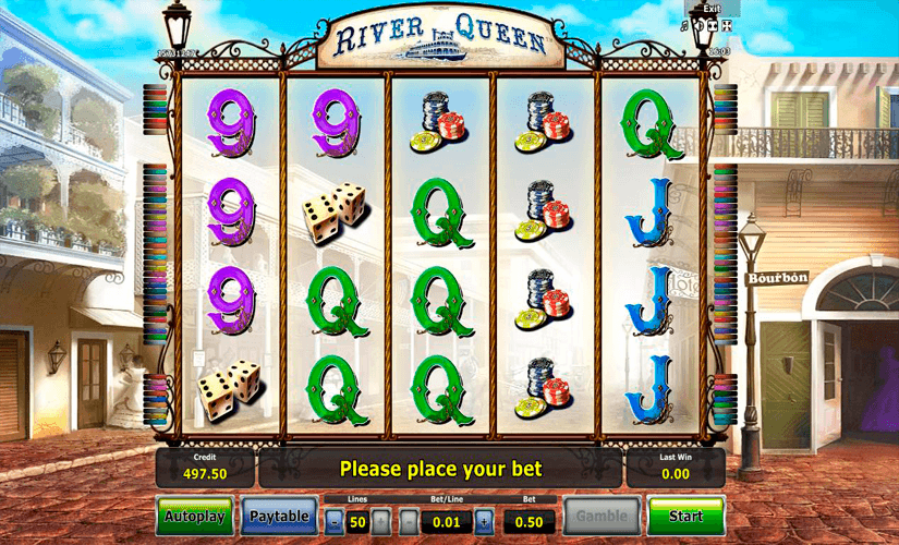 River Queen Slot Machine Online