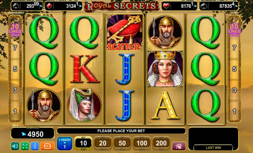 Royal Secrets Slot Machine Review
