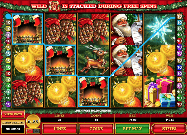 Deck the Halls Slot Game Online