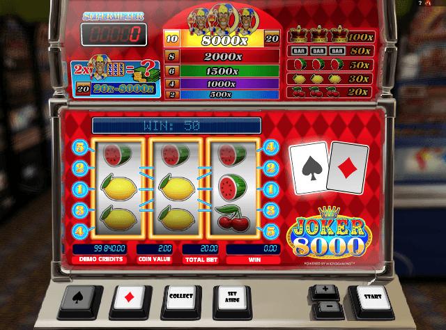 Joker 8000 Slot Game Online