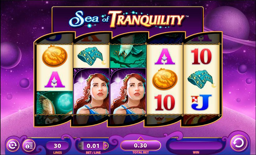 Sea of Tranquility Slot Machine Review