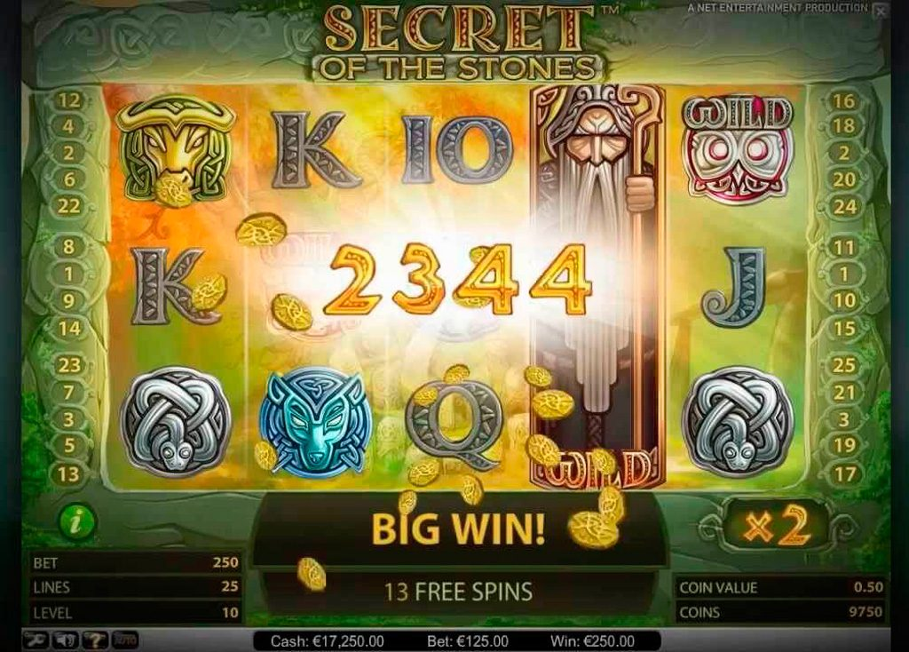 Play For Free Secret Of The Stones Slot Machine Online 5