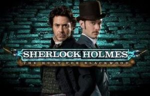 Play For Free Sherlock Holmes The Hunt For Blackwood Slot Machine Online