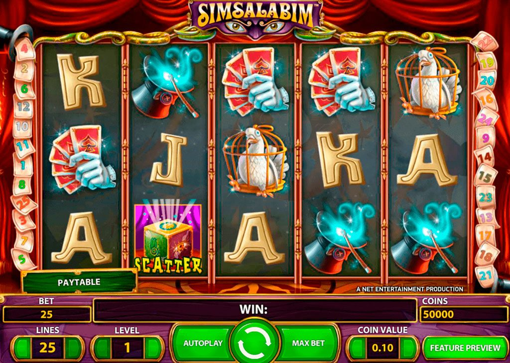 Simsalabim Slot Machine Reviews