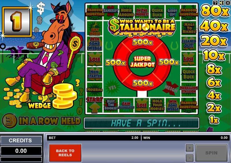 Stallionaire Slot Machine Online