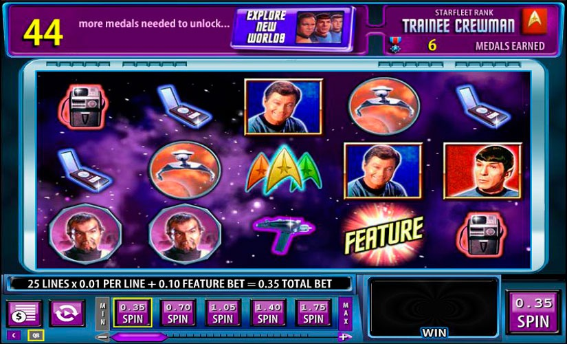 Star Trek: Red Alert Slot Machine Review