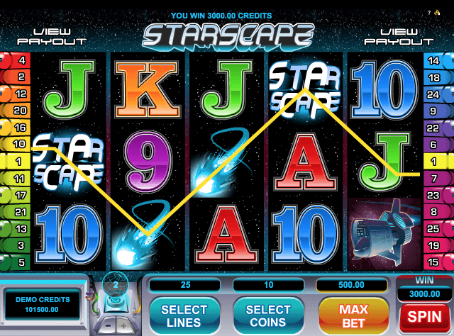 Star Scape Slot Game Online