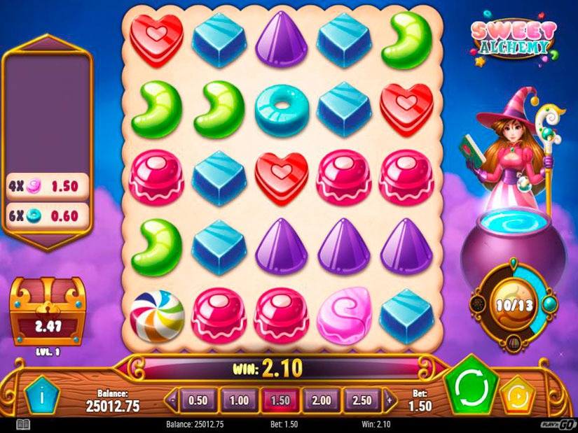 Sweet Alchemy Slot Machine Review