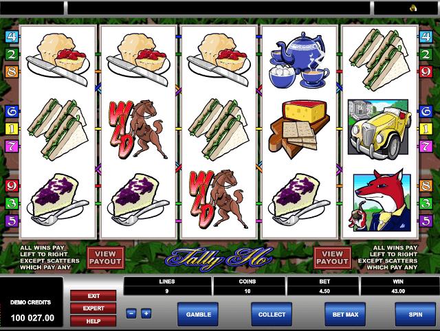 Tally Ho Slot Machine Online