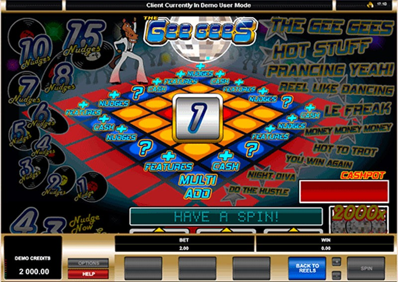 The Gee Gees Slot Machine Online