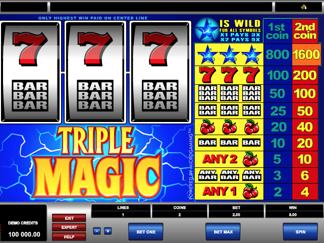 Triple Magic Slot Game Online