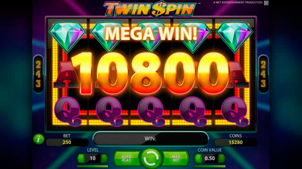 Twin Spin Slot Machine Review