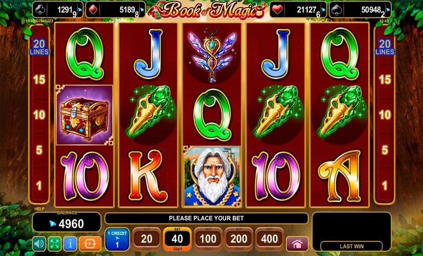 Book of Magic Slot Machine Review