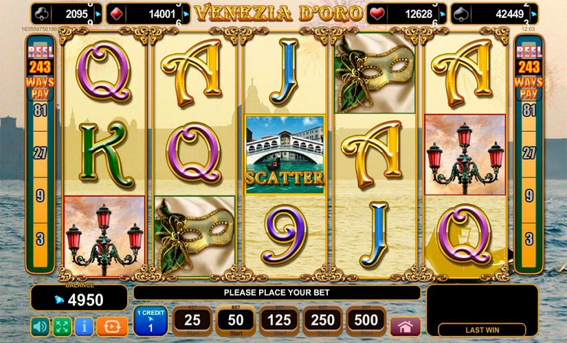 Venezia D'oro Slot Machine Review