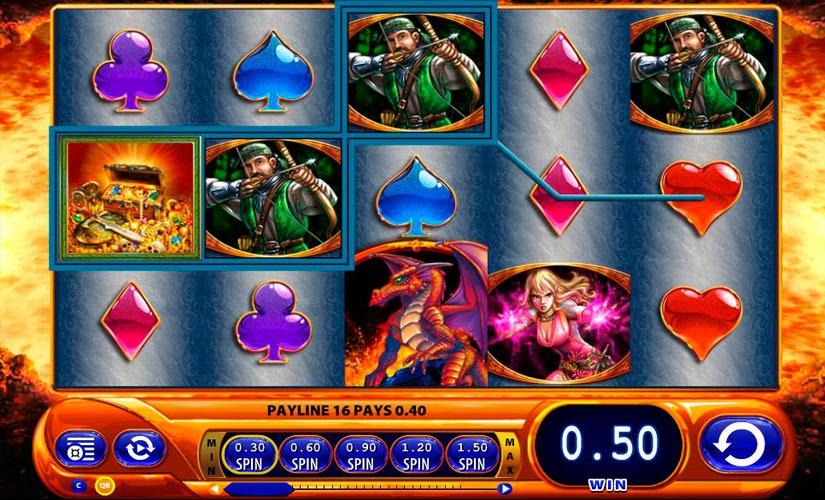 Dragon's Inferno Slot Machine Review