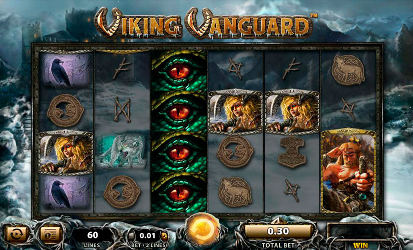 Viking Vanguard Slot Machine Review