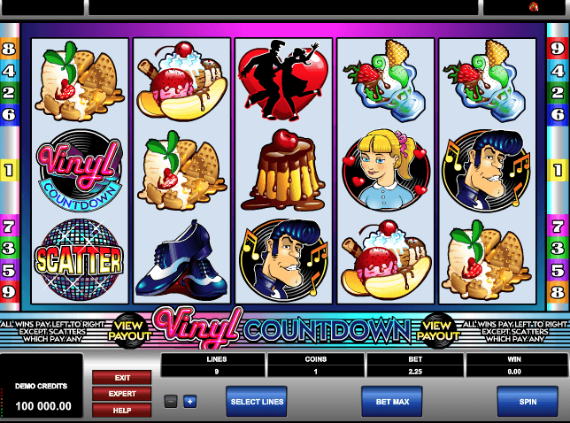 Vinyl Countdown Slot Game Online