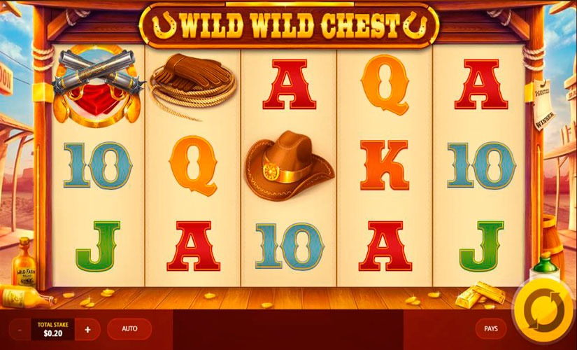 Wild Wild Chest Slot Machine Online