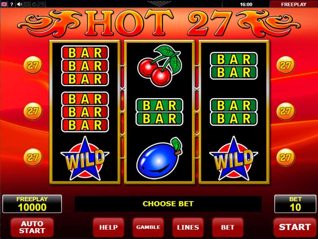 Hot 27 Slot Machine Review
