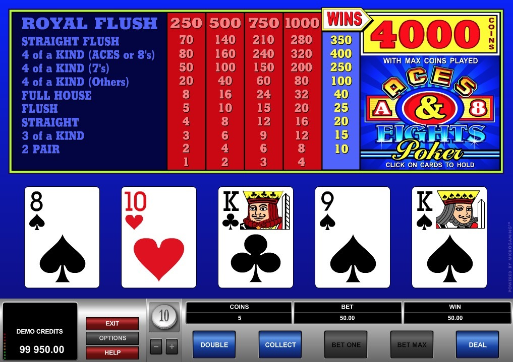Aces and Eights Poker Online