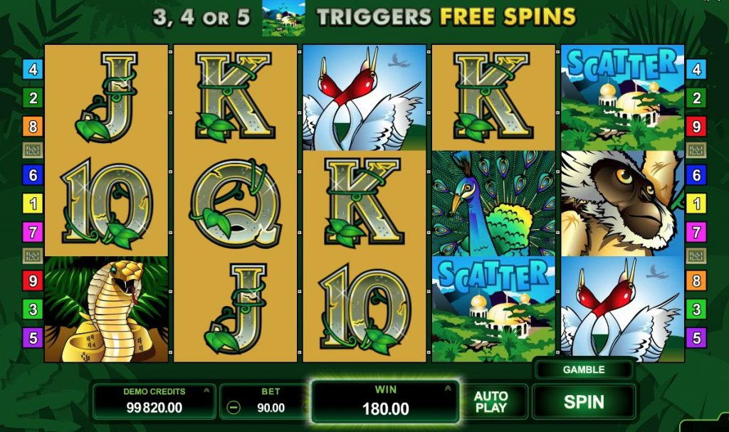 Adventure Palace Slot Machine Online