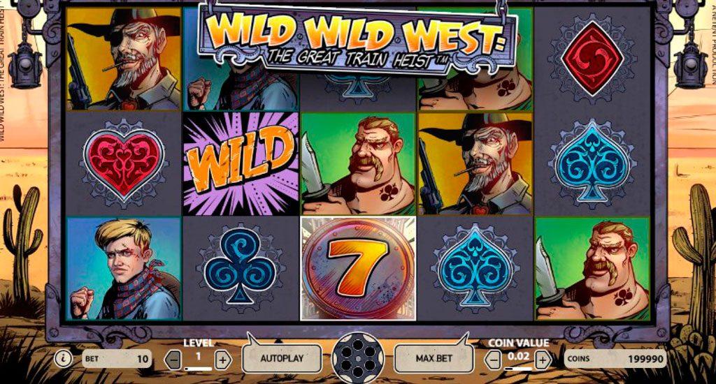 Wild Wild West Slot Machine