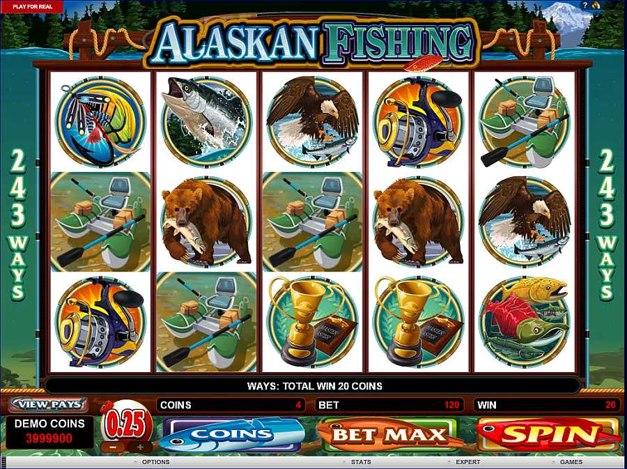 Alaskan Fishing Slot Machine Online