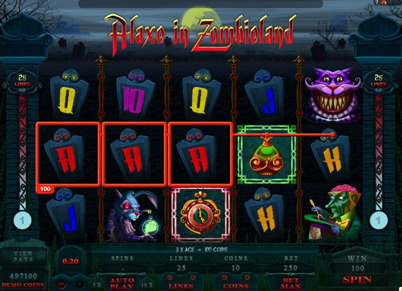 Alaxe In Zombieland Slot Game Online