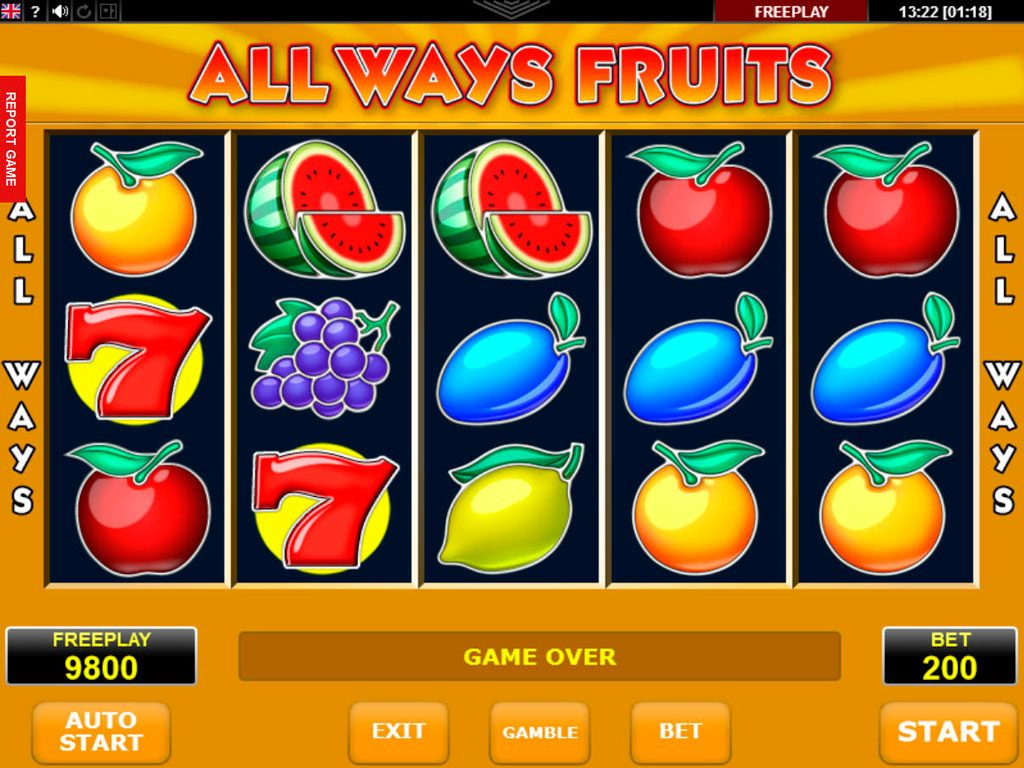 All Ways Fruits Slot Machine Review