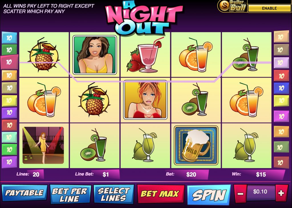 A Night Out Slot Machine Review