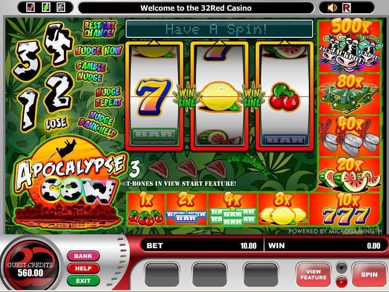 Apocalypse Cow Slot Machine Online