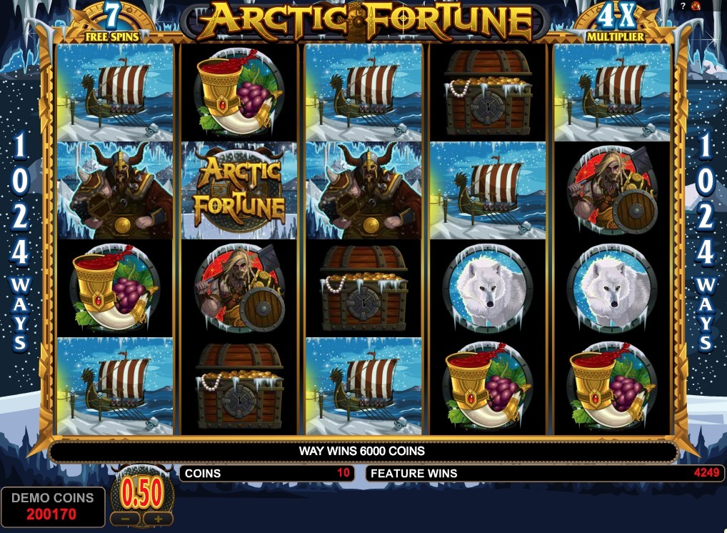 Arctic Fortune Slot Game Online