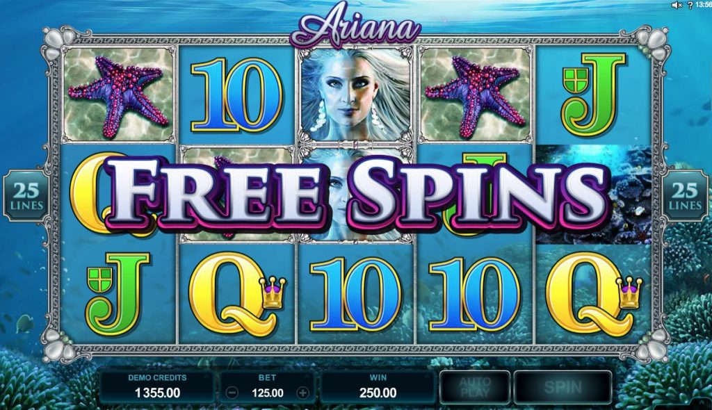 Ariana Slot Machine Review