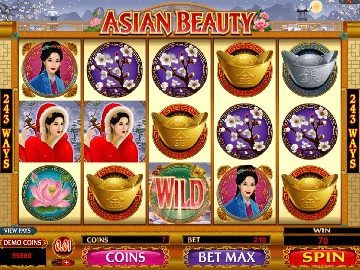 Asian Beauty Slot Machine Online