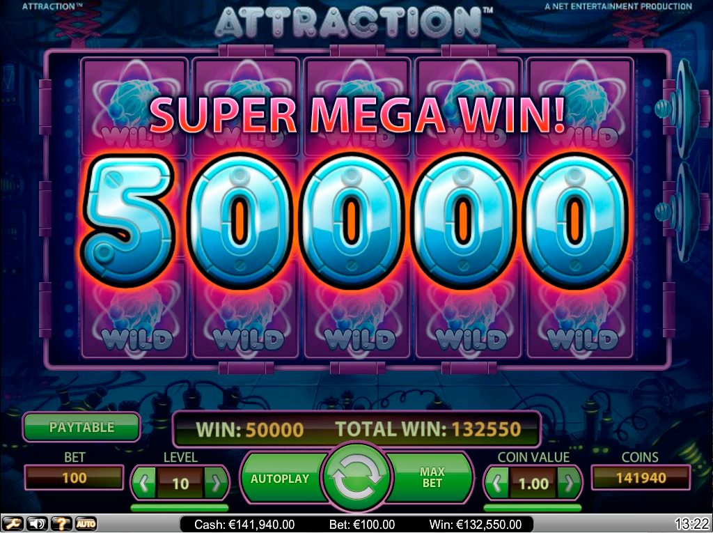 Attraction Slots win