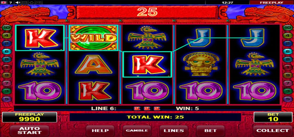 Aztec Secret Slot Machine Review